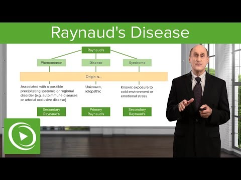 Raynaud's Disease – Diseases of the Lymphatic System | Lecturio