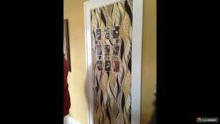 видео Декор межкомнатных дверей своими руками