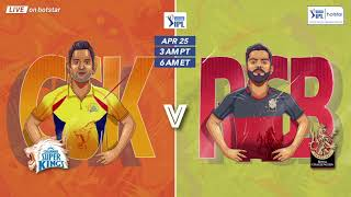 Watch CSK Vs RCB LIVE on Hotstar