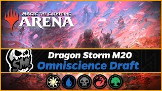 Omniscience Draft Event | Core Set 2020 | MTG Arena | Livestream