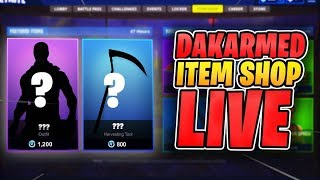 Item Shop Count Down January 23rd New Skins Live| Fortnite Battle Royale