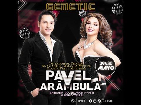 Show de Pavel Arámbula 30-05-2015 en Genetic Majestic Club 2015
