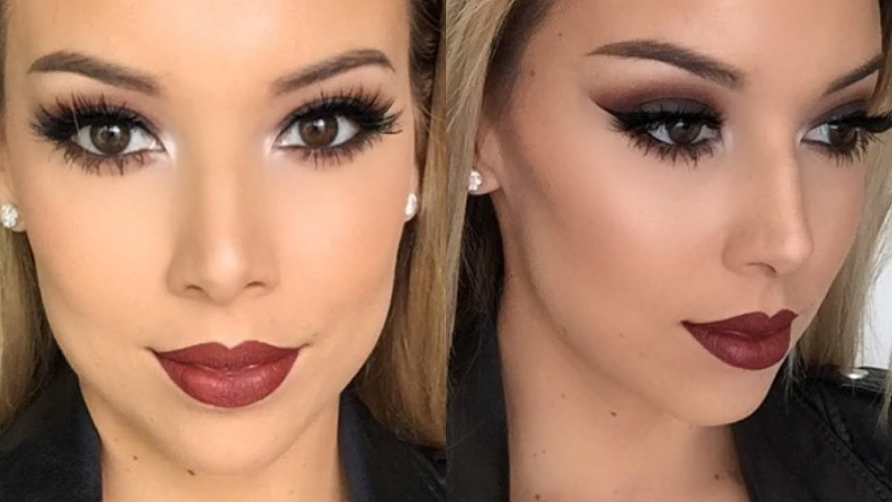 smokey vampy makeup tarte amazonian clay first impression lustrelux youtube. Black Bedroom Furniture Sets. Home Design Ideas
