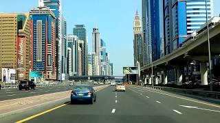 Sheikh Zayed Road Dubai UAE 2-Feb-2014