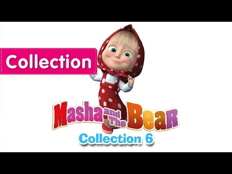 Masha and The Bear - Compilation 6 (3 episodes in English) New Collection for kids 2016!