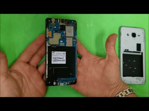 Samsung Galaxy On5 - How To Take Apart & Replace LCD Glass Screen Replacement