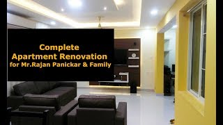 Complete Home Renovation | Apartment project at Kacheripady
