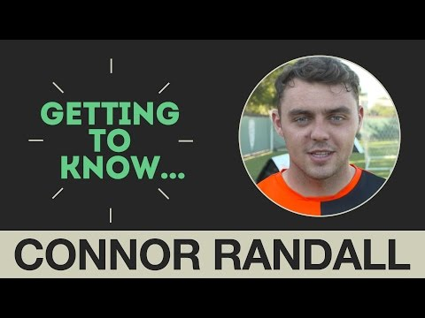 Getting to Know: What's wrong with Connor Randall's toes?
