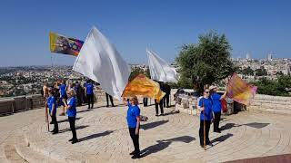 Evangelical dance in Jerusalem, the capital of Israel?