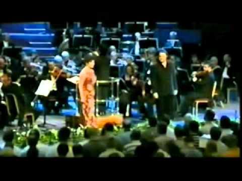 Wagner Walkure Rosalind Plowright as Fricka & Bryn Terfel as Wotan, Walkure 2005 Proms