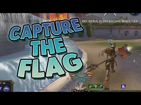Smite: Capture the Flag (New Game Mode PTS) - THIS IS JUST A MESS!
