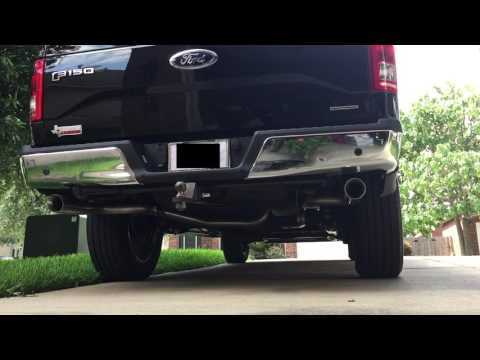 2016 F-150 5.0L V8 STOCK EXHAUST VS. FLOWMASTER AMERICAN THUNDER DUEL EXHAUST