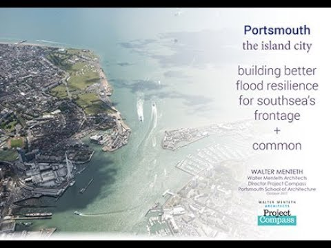 Portsmouth the Island City building better flood resilience for Southsea's frontage and common