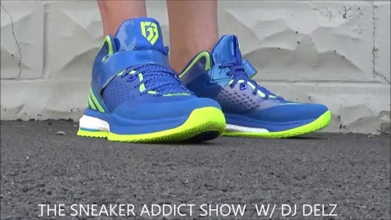 Adidas RGIII Energy Boost Trainer Shoe Unboxing Review + On Feet With Dj Delz