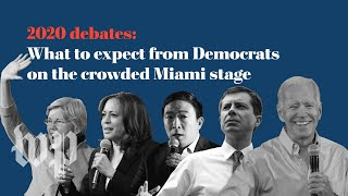 What to expect from Democrats on the crowded debate stage