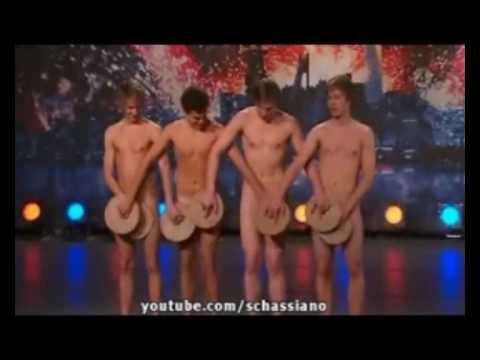 4 Chàng Thụy Điển múa khỏa thân .wmv