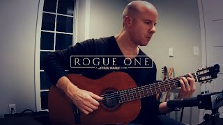 Rogue One: Guardians of the Whills Suite for classical guitar + TAB