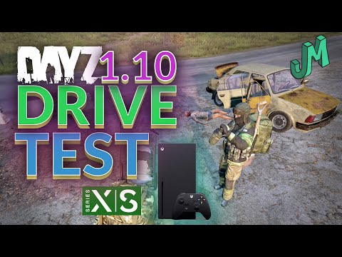 DayZ 1.10 🎒 Driving On The Series X 🎮 Next Gen Console