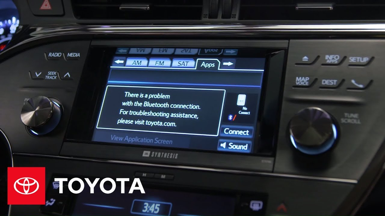 2017 Avalon How To Steering Wheel Controls Toyota