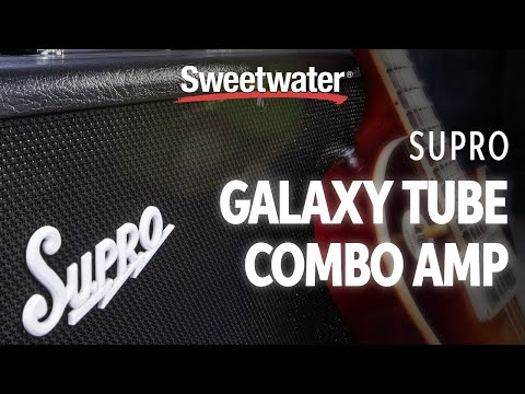 Supro Galaxy Tube Combo Amplifier Demo