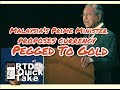 Malaysia's Prime Minister Proposes Currency Pegged To Gold - RTD Quick Take