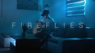 Owl City - Fireflies (Acoustic Cover by Dave Winkler)