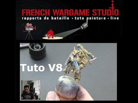 FWS: Tuto Peinture Plague Marine Death Guard  Dark Imperium Warhammer 40000