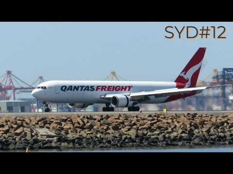 [HD] Plane Spotting @ Sydney Kingsford Smith Airport: Episode-12 (All Widebody Aircraft Compilation)