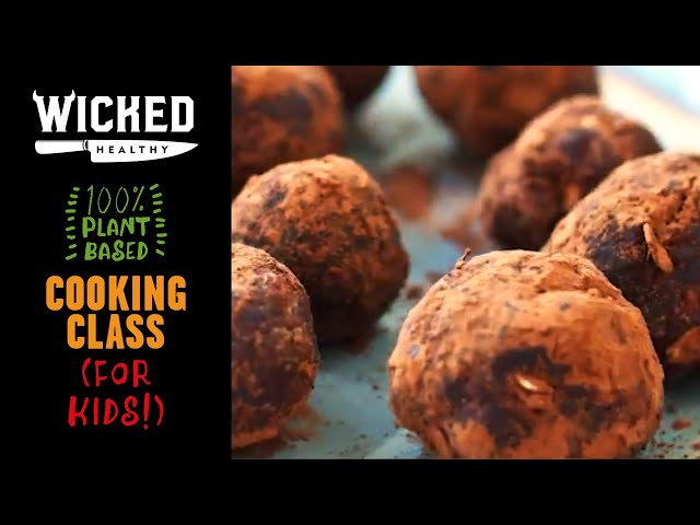 Ch.4 - Vegan Snacks on the Go! | Plant-Based Cooking Class | Wicked Healthy Kids