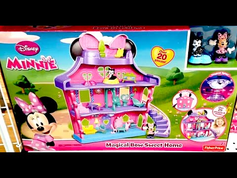 Minnie Mouse Magical Bow Sweet Home Minnie S House Play