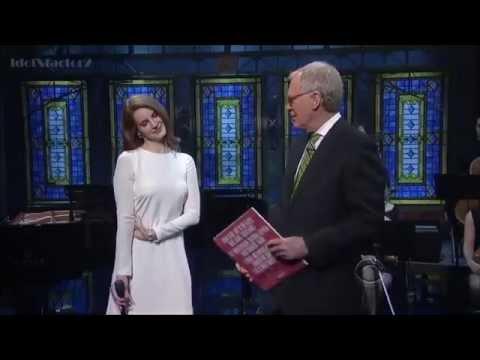 Lana Del Rey   Video Games live @ David Letterman Show, 2012
