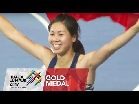 Athletics Women's High Jump Final Highlights | 29th SEA Games 2017
