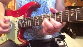 1962 Eddie Vegas Built Pre CBS Fender Strat www.eddievegas.com