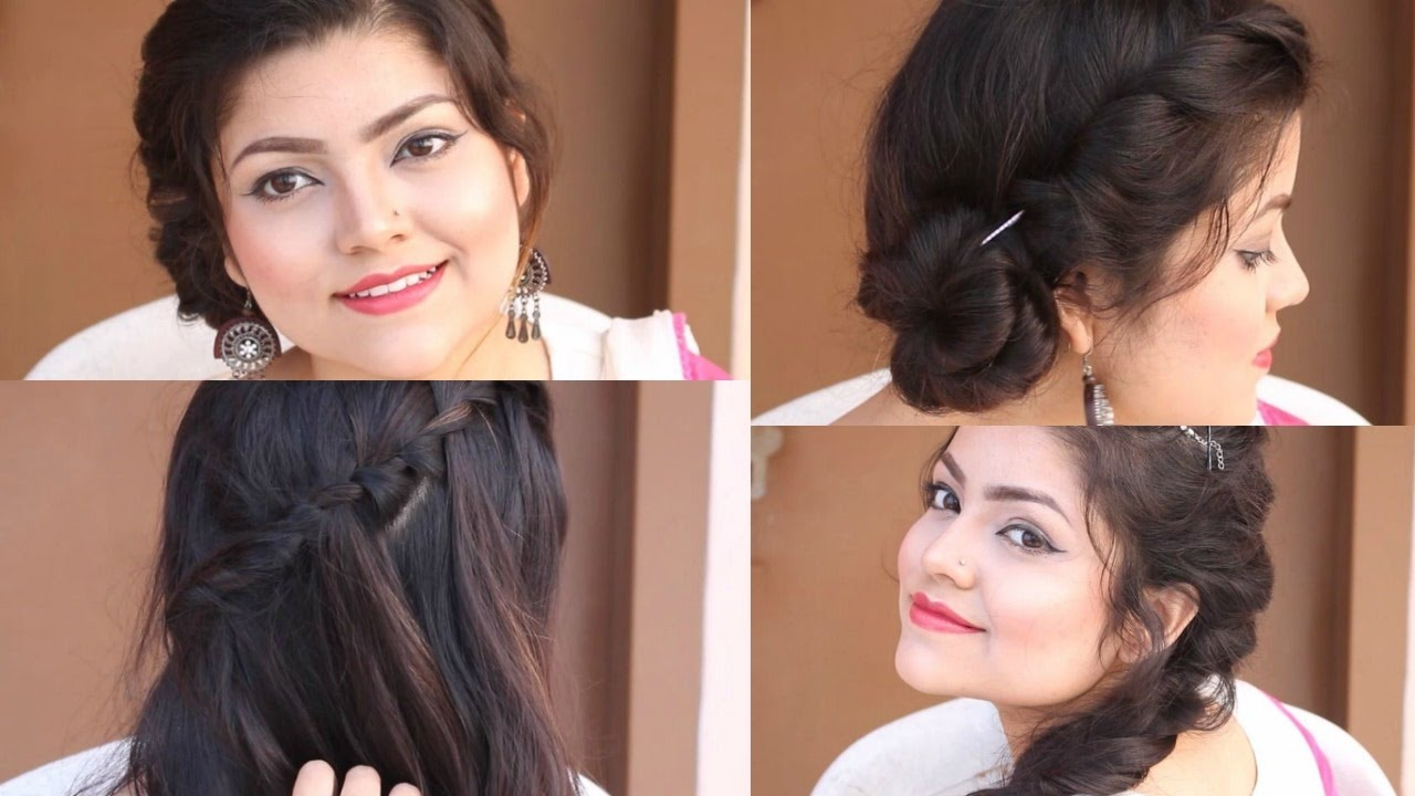 2 min everyday easy hairstyles