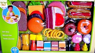 TOY FOOD Just Like Home Deli Toy Food Fun!