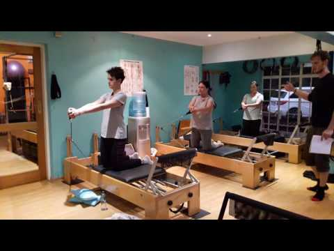 Pilates Dynamics Reformer Group Class