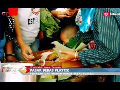 Penjual Pasar Doplang Sajikan Kuliner Tradisional dan Haramkan Bungkus Plastik - BIP 12/02