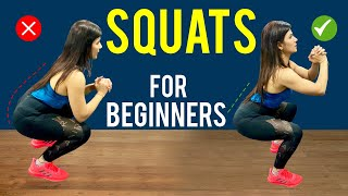 How To Do SQUATS For Beginners | TUTORIAL With Hacks | By imkavy