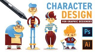 Character Design with Photoshop and Illustrator