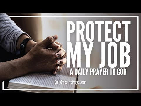 Prayer For Job Protection - Protect Your Job Now