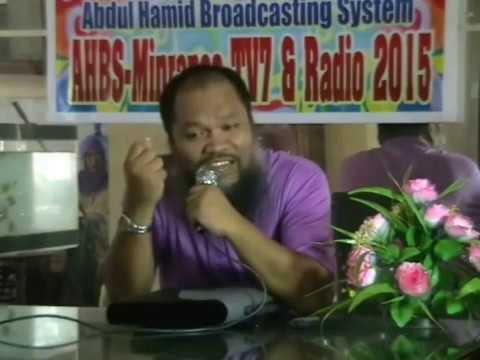 Maranao Wasiat of Aleem Dariday Mimbalawag (Full Video live) 2015-May 27