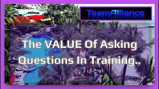 The Value Of Asking Questions During Training.. | #TANuggets