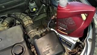 """Трансмиссионное масло Mannol 75-90 в приору"""""""