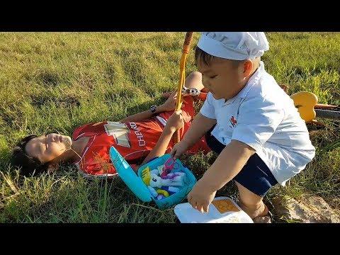 Trò Chơi Bé Pin Học Bác ❤ ChiChi ToysReview TV ❤ Đồ Chơi Trẻ Em Baby Doli Fun Song Bài Hát Vần Thơ