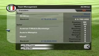 FIFA 03 Career Mode