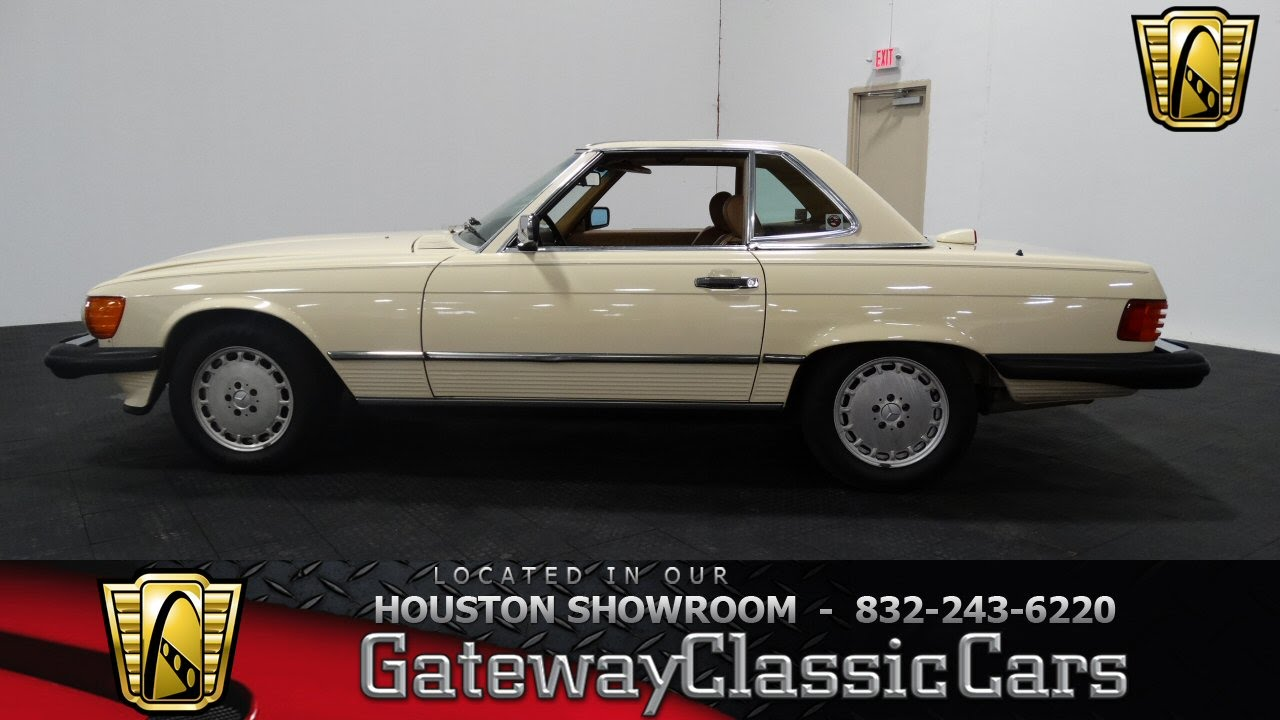 1987 Mercedes Benz 560SL Gateway Classic Cars of Houston stock 360 ...