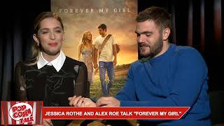 "Jessica Rothe And Alex Roe Talk ""Forever My Girl"""