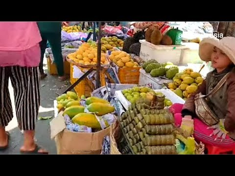 Download Deum Kor Market - Buying Some Fruits For Khmer New Year - Foods And Activities