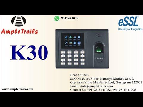 Essl Identix K30 Pro EM Lock Access Control System Glass Lock | Installation Access Control System