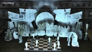 Klangraum-Schachspiel-Projekt Georg Schalla, Schloßplatz Rastatt 2018